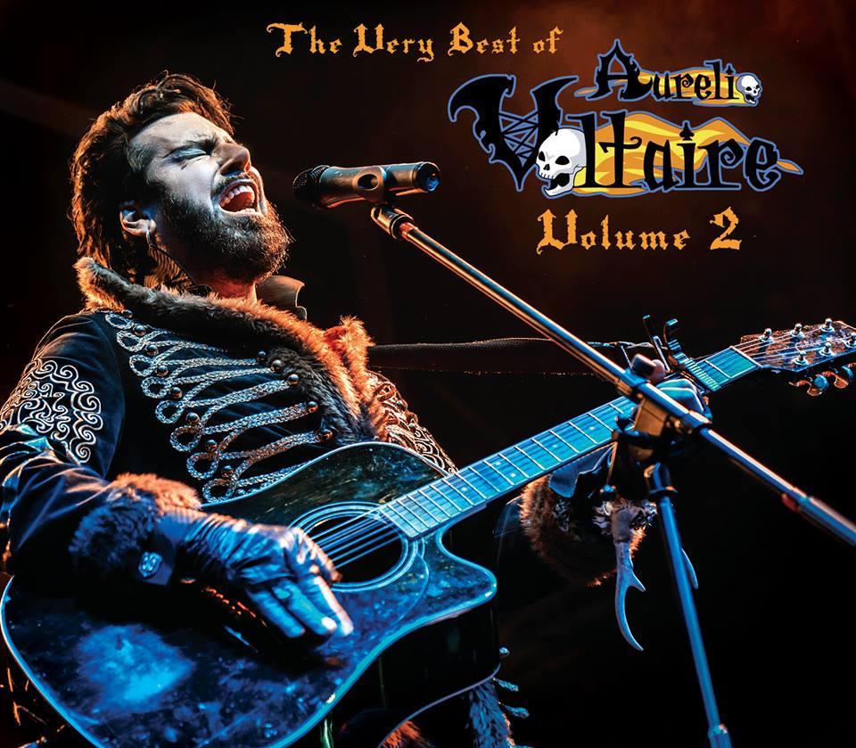 Neues Album Mai 2017 The Very Best of Aurelio Voltaire Volume 2